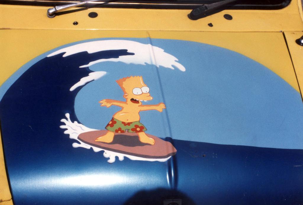 prix fou nouveau produit 100% authentique Bart Simpson car bonnet by axisus on DeviantArt