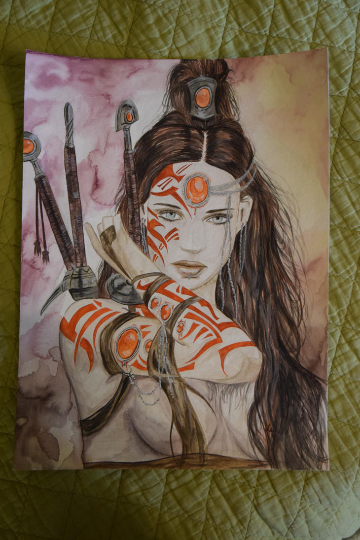 Tribute to Luis Royo II by Inlacrimas