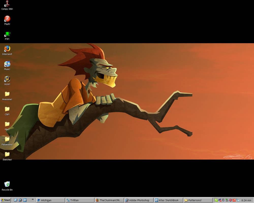 Desktop as of 4.27.07