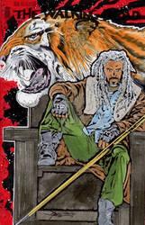 Walking Dead Ezekiel Hand Drawn Sketch Cover