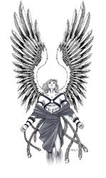 male angel 1 by wynnter89