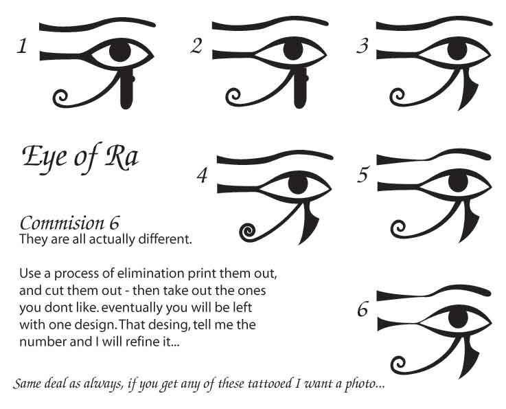 eye of ra eye of horus