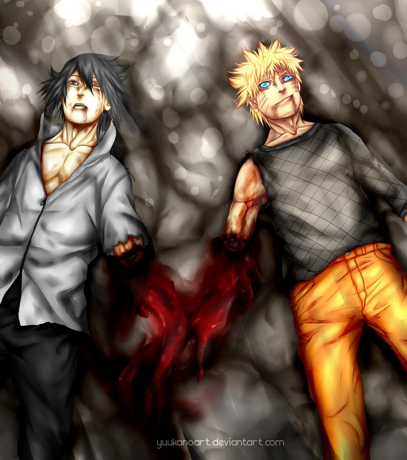 Manga : Naruto chapter 698 - Shut up stupid! by YuukanoArt