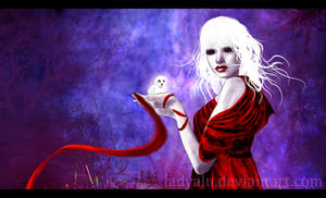 Owl Goddess by LadyAlu