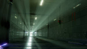 Long Icy Corridor