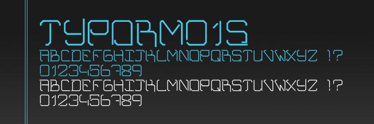 TYPORM01S Font