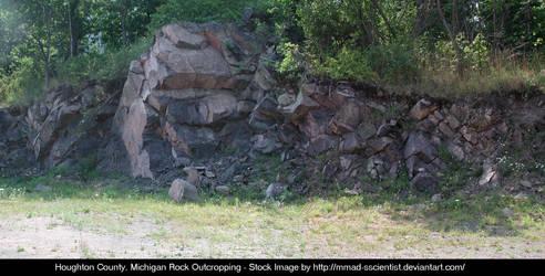 Houghton, Co. Rock Outcropping