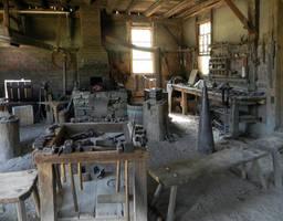 Blacksmith Shop I by mmad-sscientist