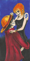 One Piece Couple_Luffy and Nami