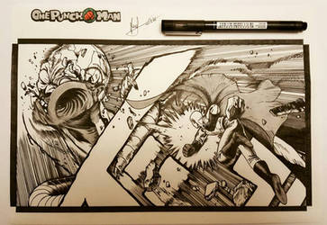 One Punch-man END by suitae