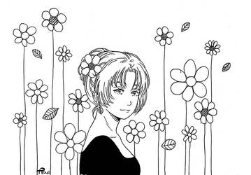 among-flowers Rayoneko
