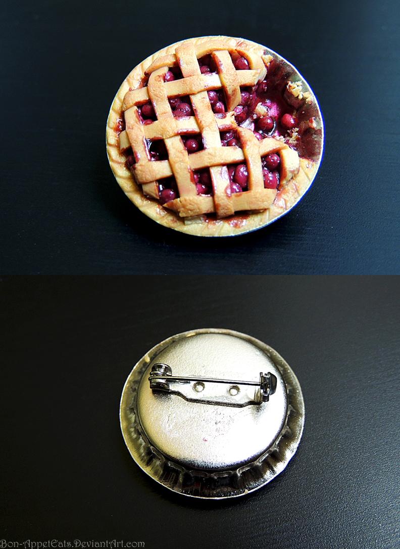 Cherry Pie Pin (Gift) by Bon-AppetEats