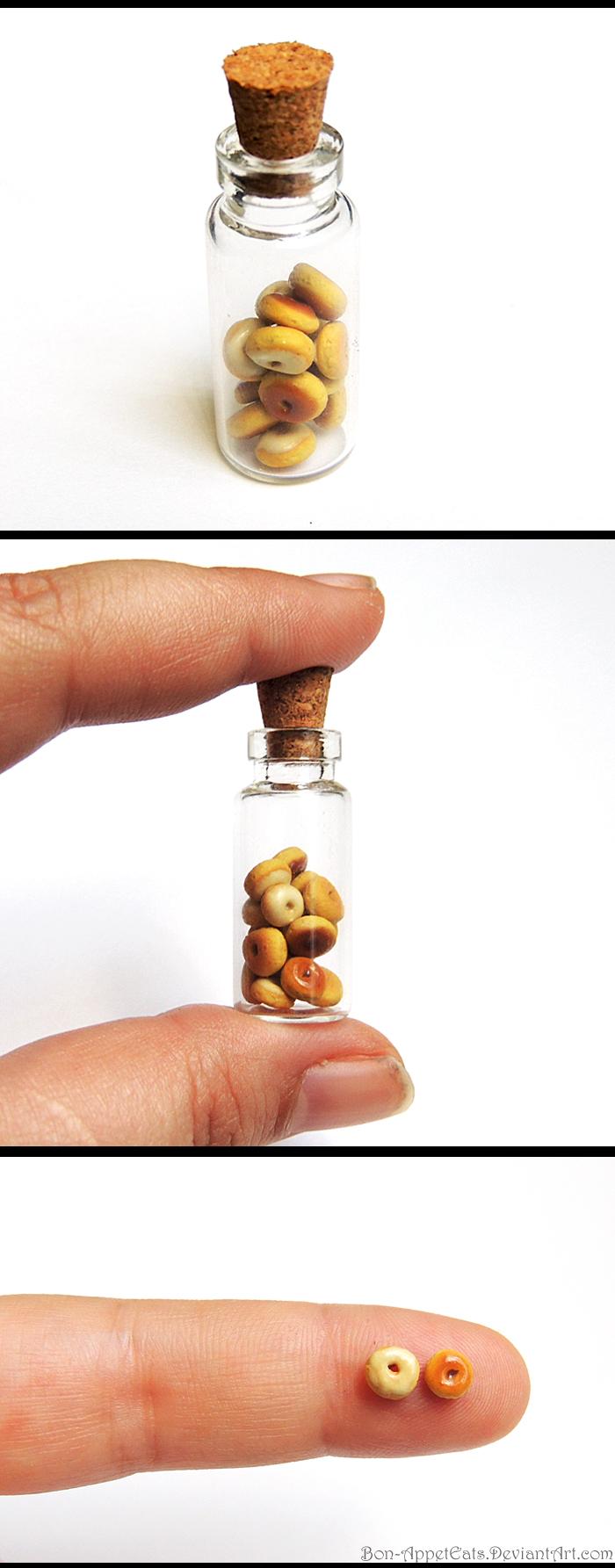 Micro Donut Jar by Bon-AppetEats