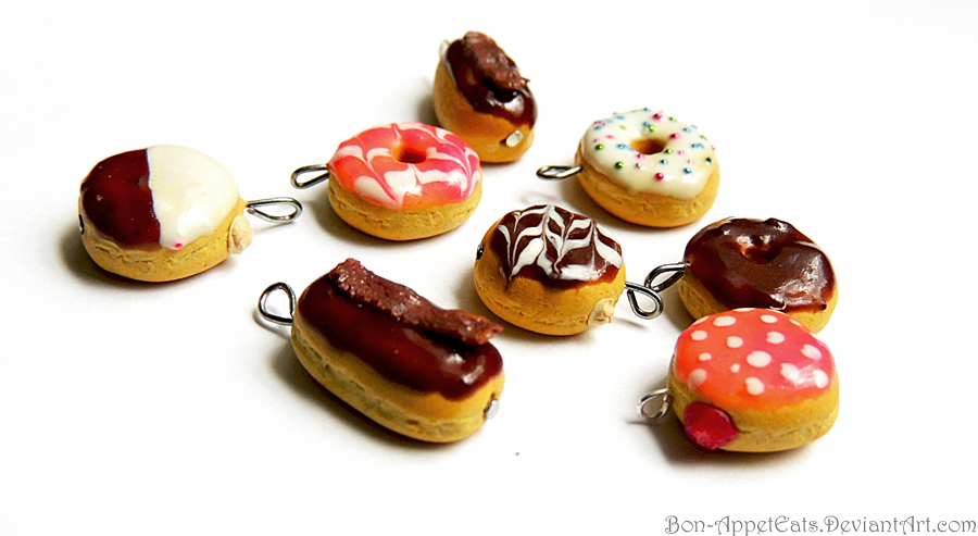 Donut Charms by Bon-AppetEats