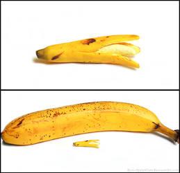 Polymer Clay Banana - Attempt 1