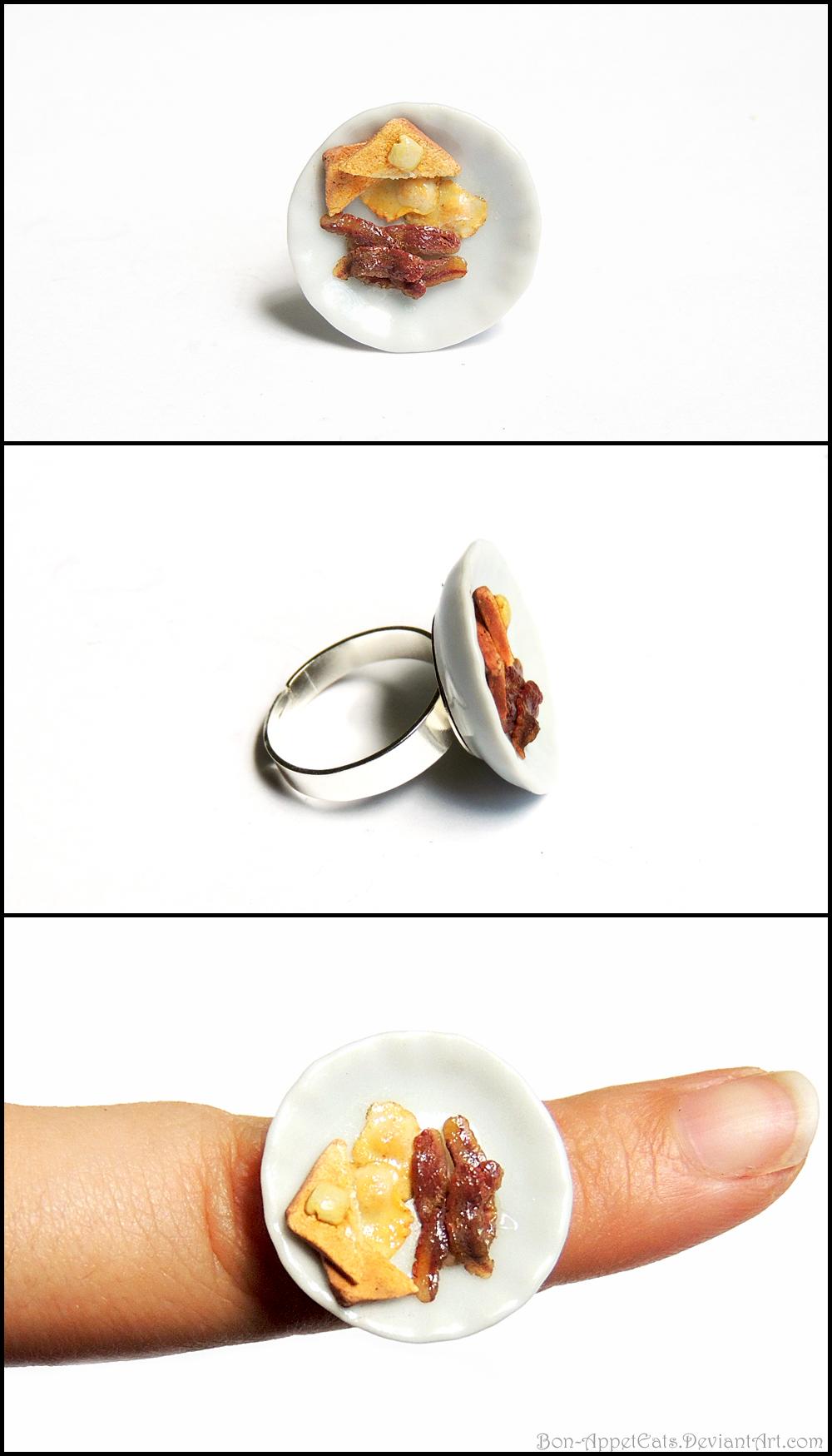 Breakfast Plate Ring by Bon-AppetEats