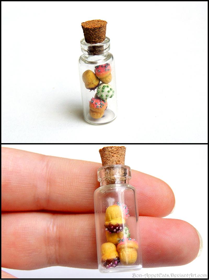 Cupcake Bottle Charm by Bon-AppetEats