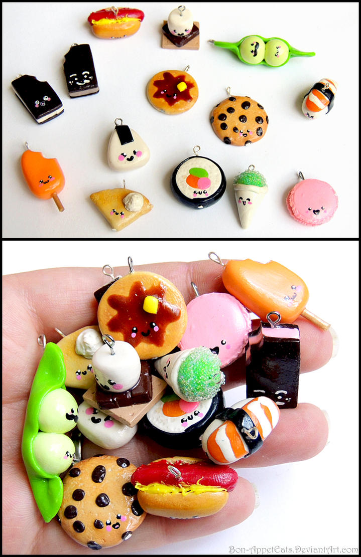 Food Charms by Bon-AppetEats