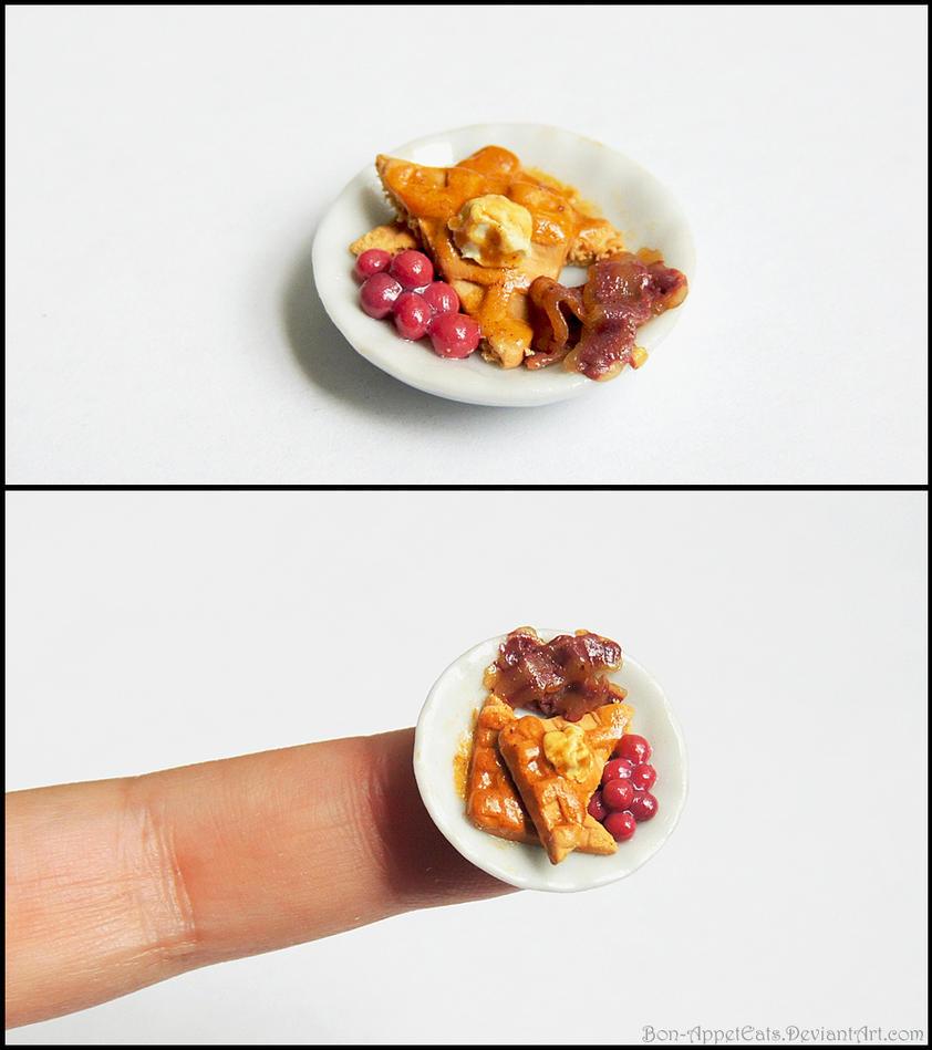 Miniature Waffle Plate by Bon-AppetEats