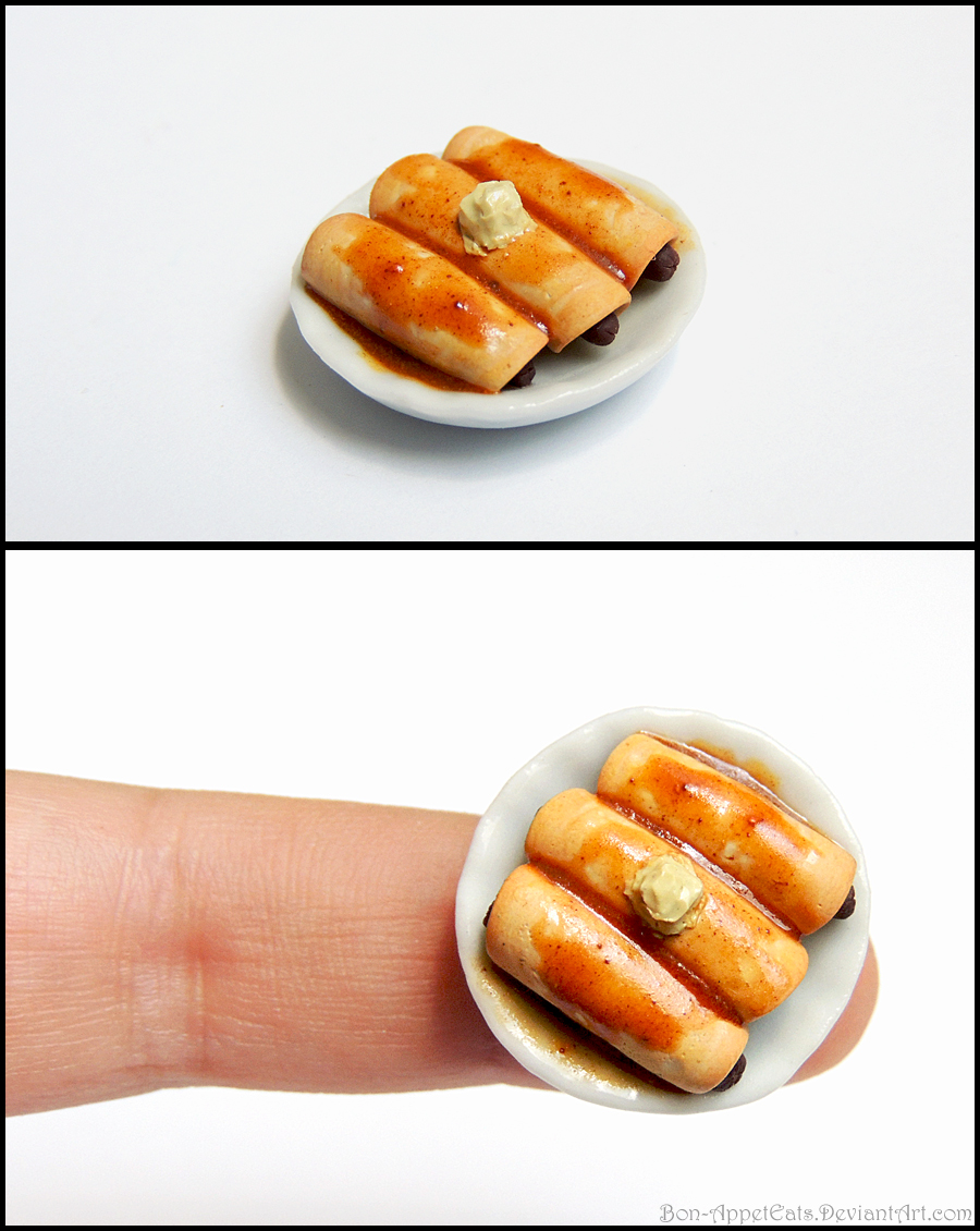 Miniature Pigs in a Blanket by Bon-AppetEats