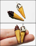 Ice Cream Cone Charms