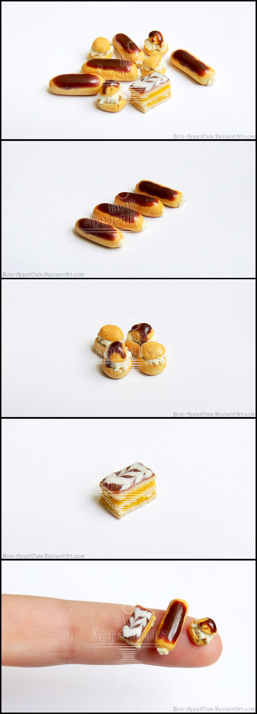 Miniature Pastries by Bon-AppetEats