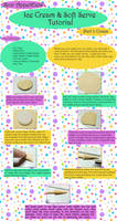 Ice Cream and Soft Serve Tutorial, Part 1 - Cones by PepperTreeArt