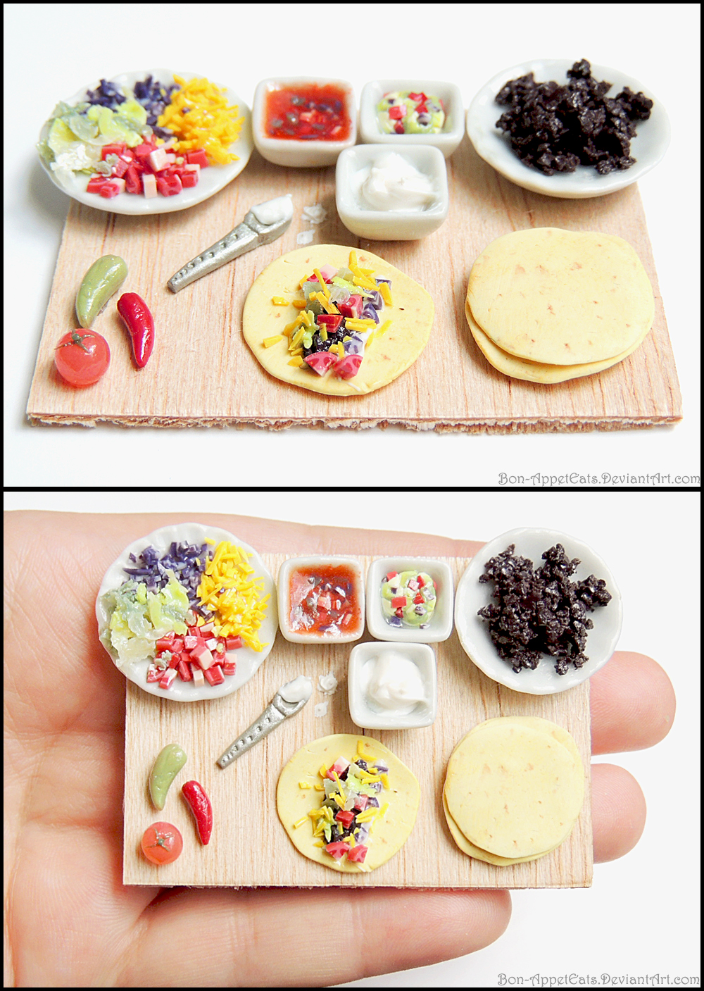 Soft Taco Prep Board by Bon-AppetEats