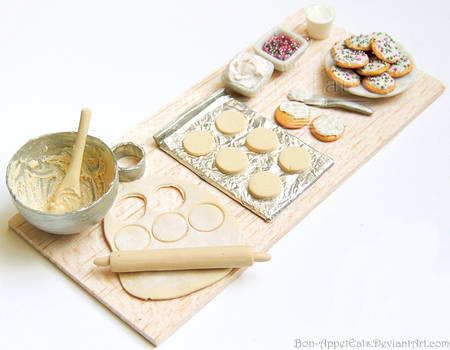 1000 Watcher Prize - Sugar Cookie Prep Board