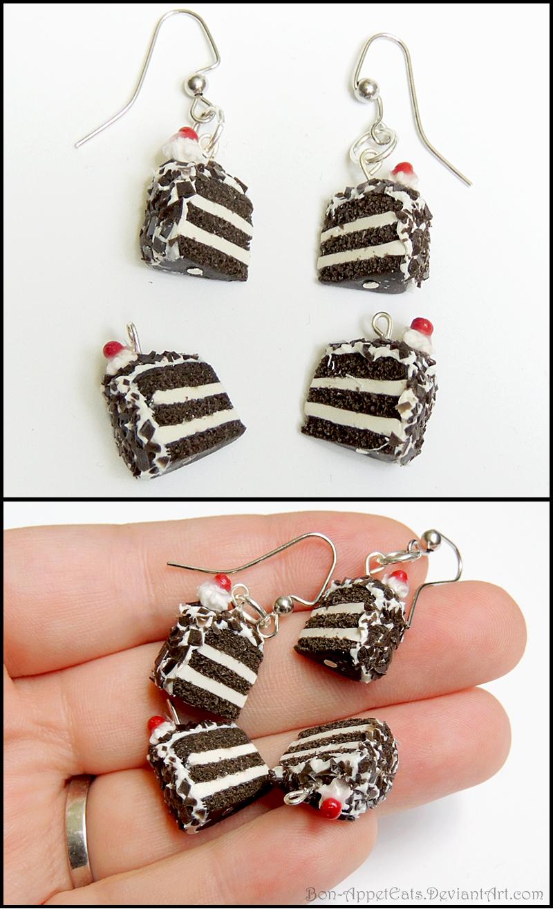 Portal Cake Earrings by Bon-AppetEats