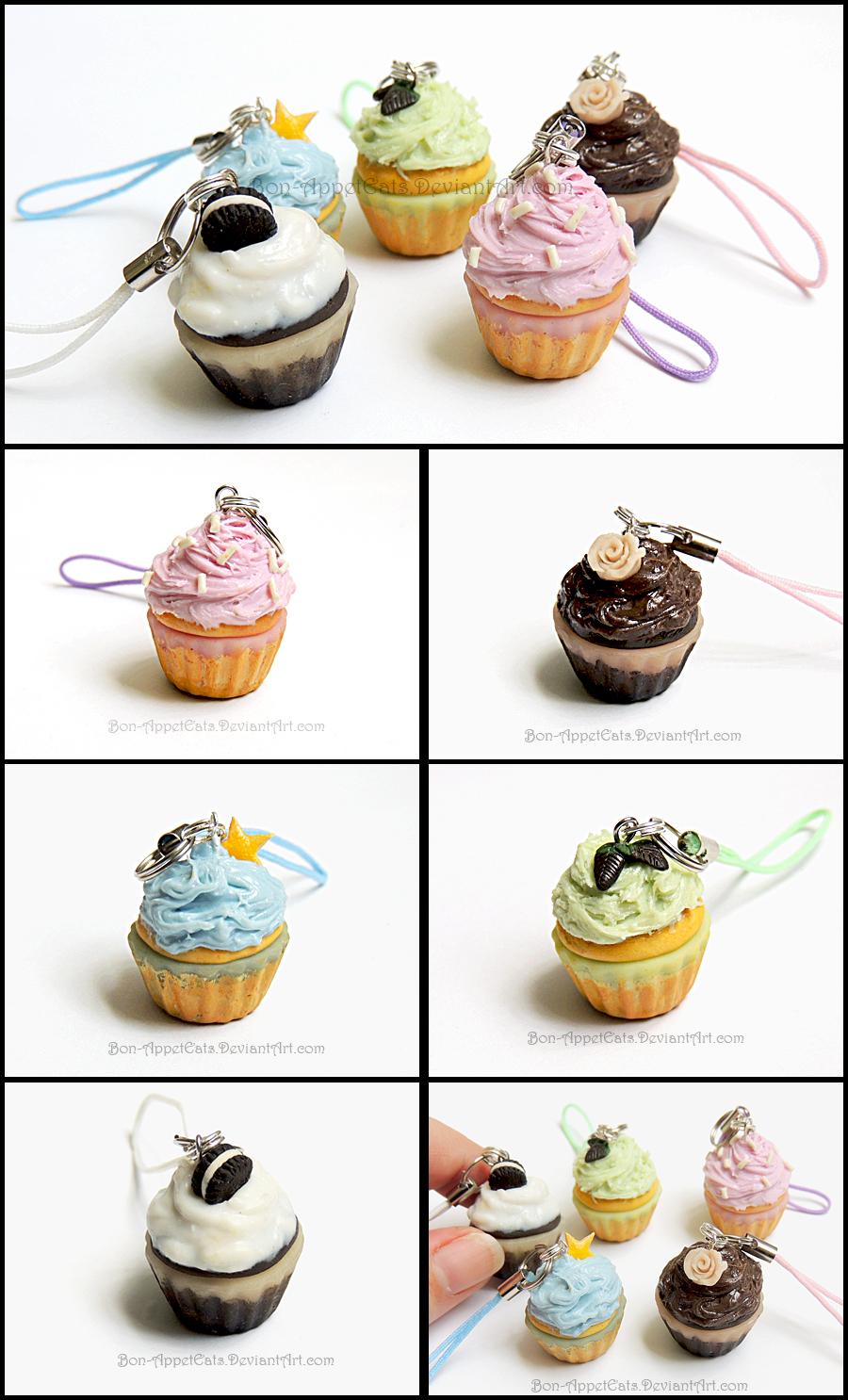 Cupcake Charms by Bon-AppetEats