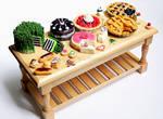 Dessert Table by PepperTreeArt