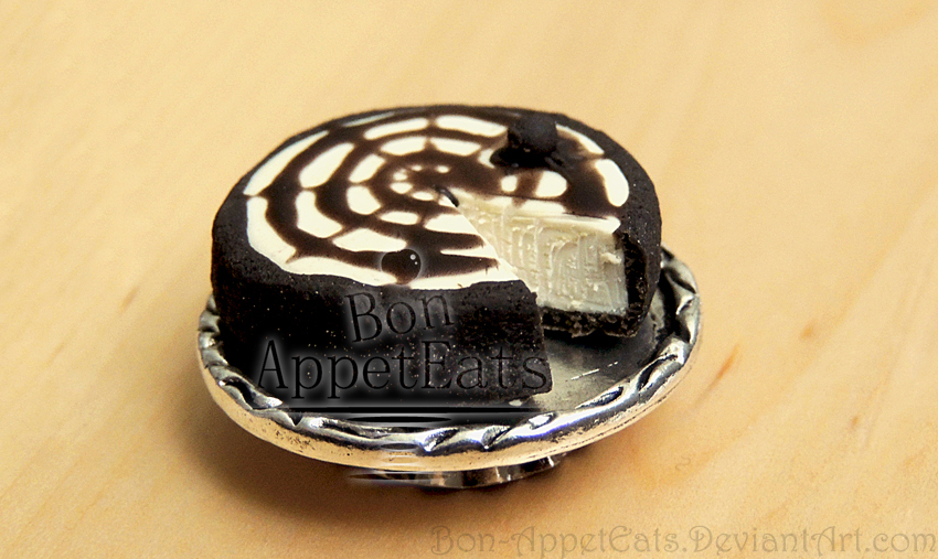 1:12 Spider Cheesecake by Bon-AppetEats