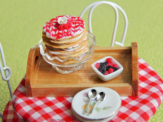 1:12 Raspberry Crepe Cake