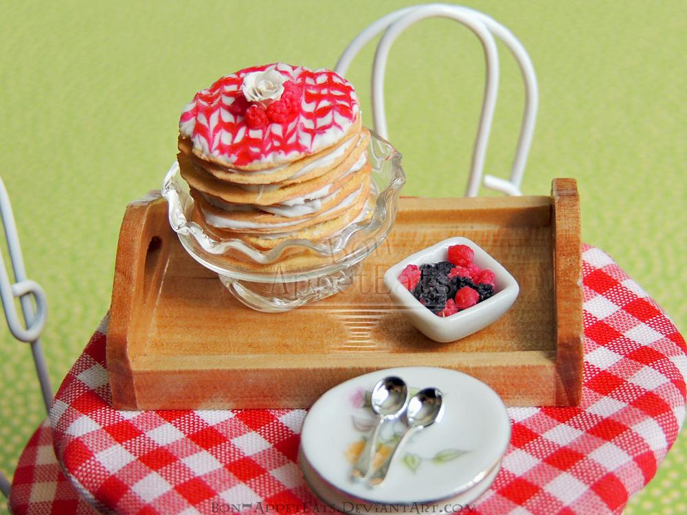 1:12 Raspberry Crepe Cake by Bon-AppetEats