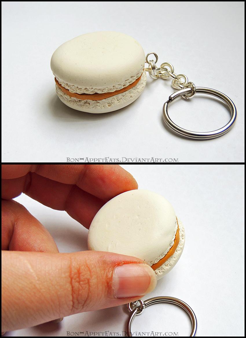 Commission - Macaron Key Chain by Bon-AppetEats