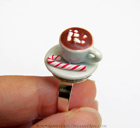 Hot Chocolate Ring by PepperTreeArt