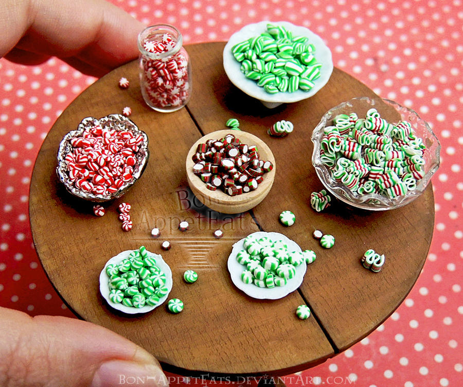 1:12 Assorted Old Fashioned Christmas Hard Candies