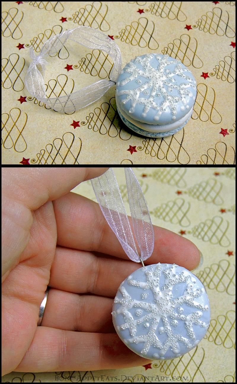 Life Size Macaron Christmas Ornament by Bon-AppetEats