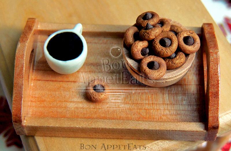 1:12 Scale Peanut Butter Hershey Kiss Cookies by Bon-AppetEats