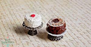 Contest Winner Cakes by PepperTreeArt