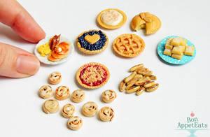 1:12 Misc Foods by PepperTreeArt