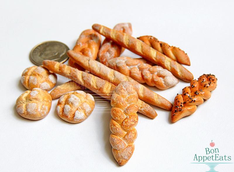 1:12 Misc Breads by Bon-AppetEats