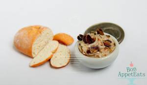 1:12 Mussels in Pasta by PepperTreeArt