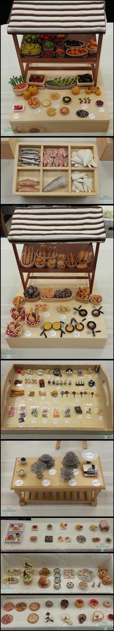 Miniature Show Table Details by Bon-AppetEats