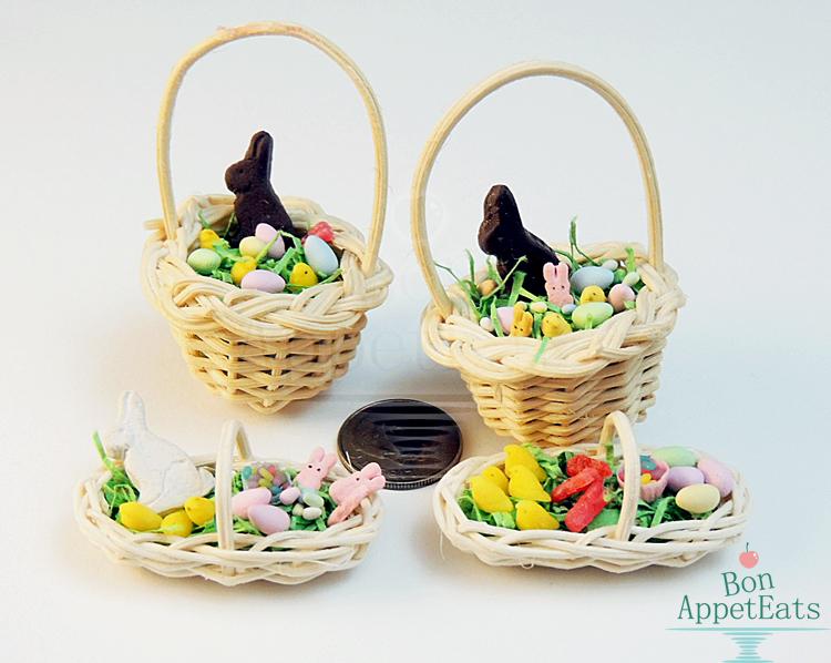 1:12 Easter Baskets by Bon-AppetEats