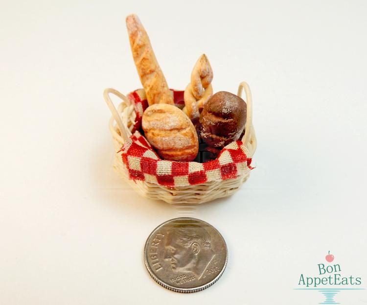 1:12 Bread Basket by Bon-AppetEats