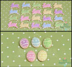 1:12 Easter Cookies by PepperTreeArt