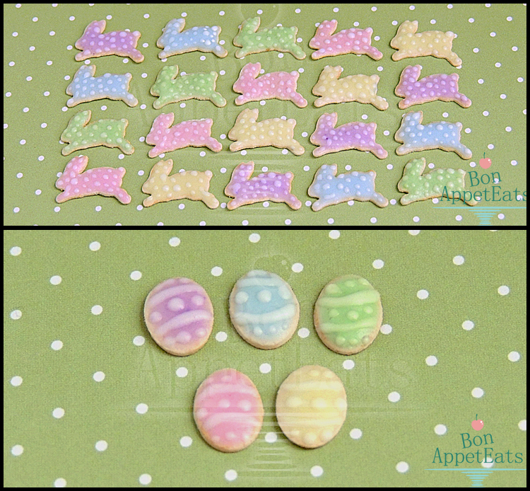 1:12 Easter Cookies by Bon-AppetEats