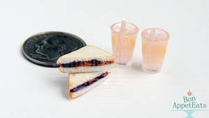 1:12 Peanut Butter and Jelly with Pink Lemonade